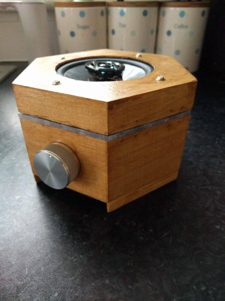 DIY Magic Box Bluetooth Audio Speaker