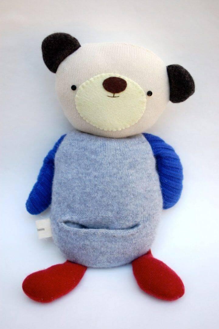 DIY Memory Teddy Bear