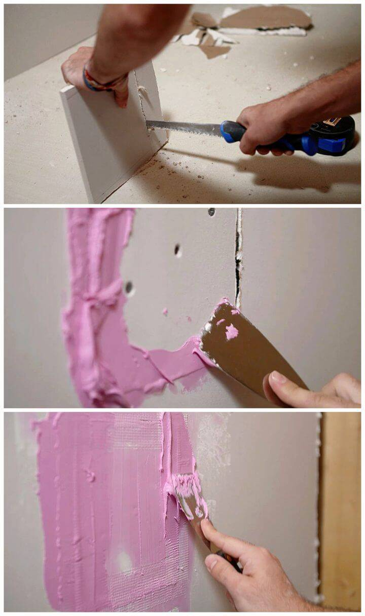 DIY Repairing a Hole In The Wall