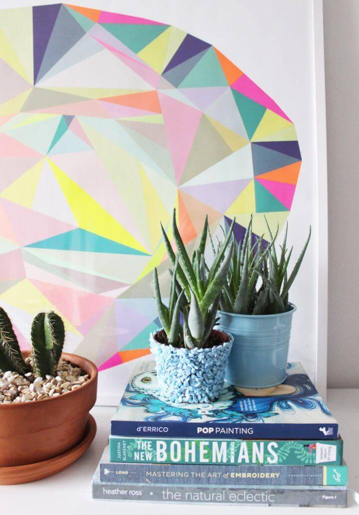 DIY Rock Planter IKEA Hack