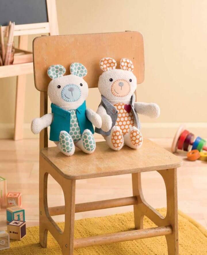 DIY Tagalong Teddy Bear