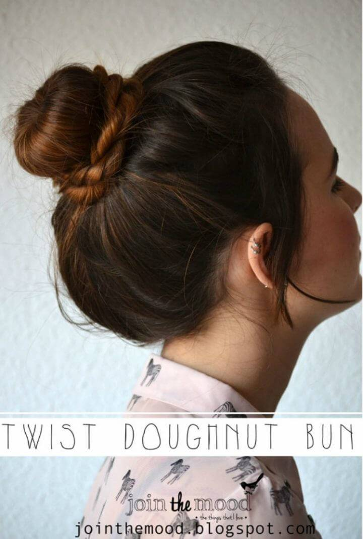 Easy Twist Doughnut Bun