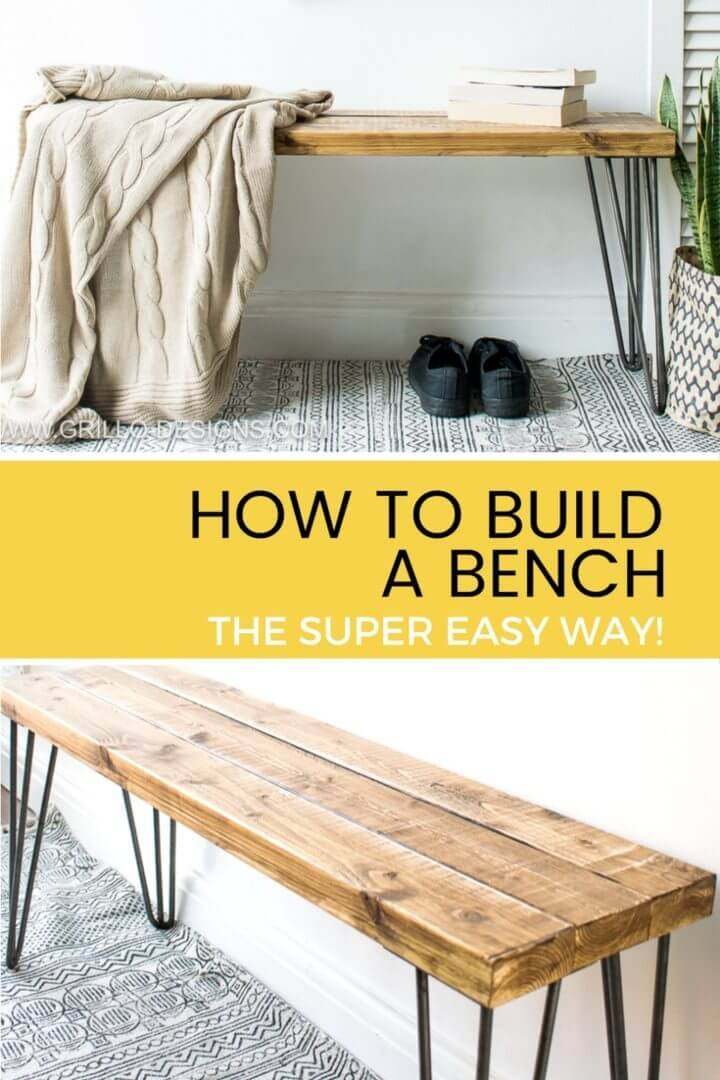 Easy Way to Build a Bench