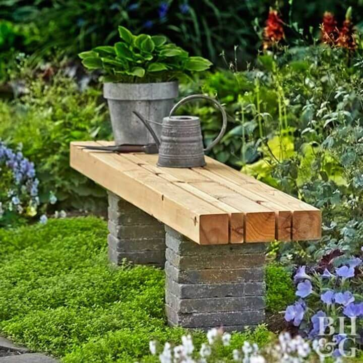 Easy to Build Garden Bench