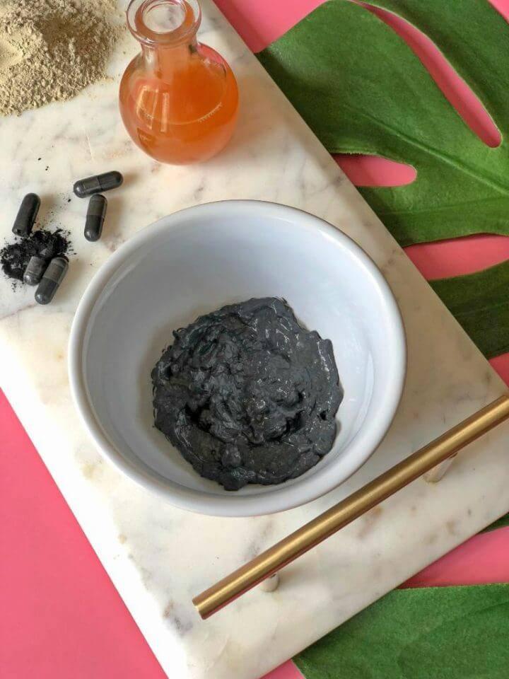 Easy to Make Charcoal Mask