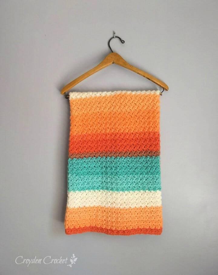 Everyday Baby Blanket Free Pattern
