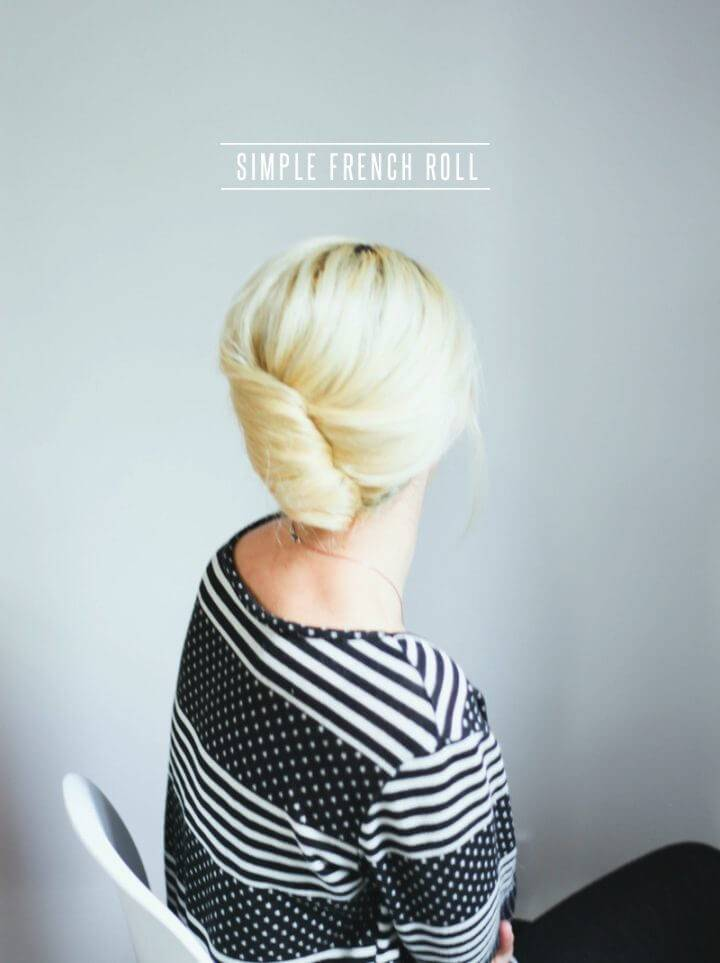 French Roll Hair Tutorial