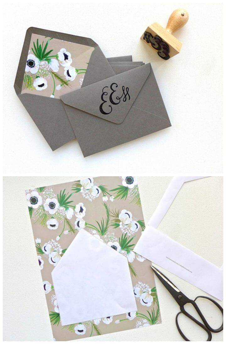 How To Create Fancy Wedding Envelopes