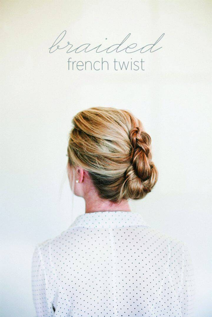 How to Braided French Twist