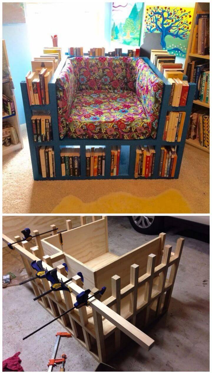 How to Build a Bookshelf Chair