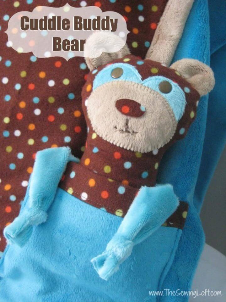 How to Make Cuddle Buddy Bear