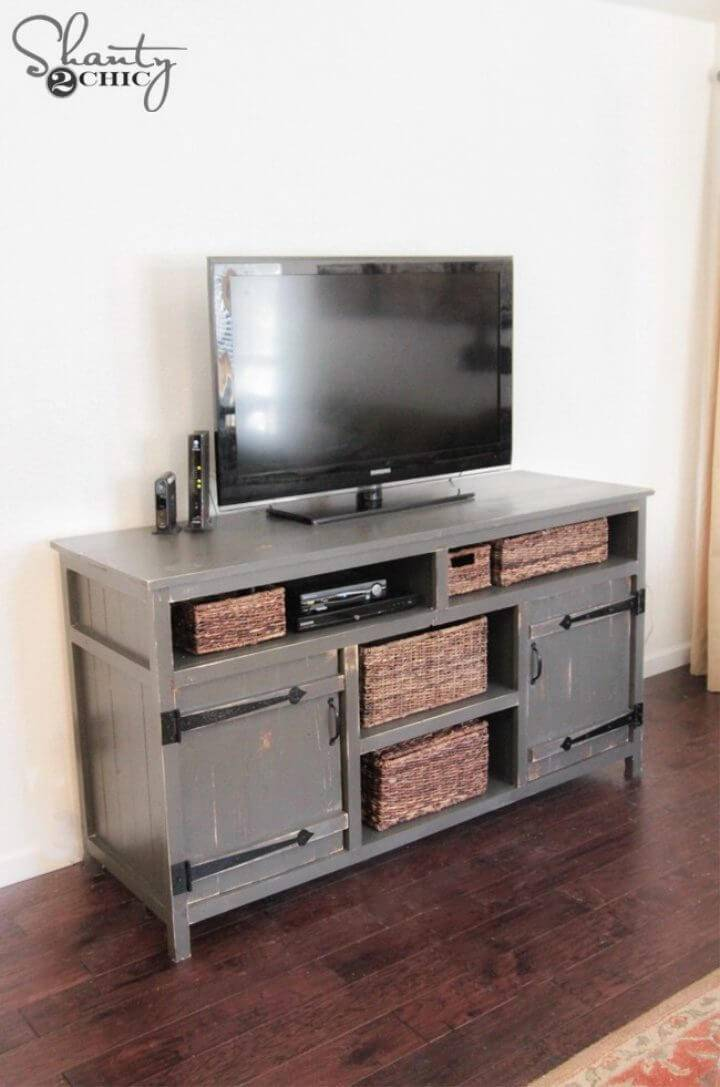 How to Make Media Console