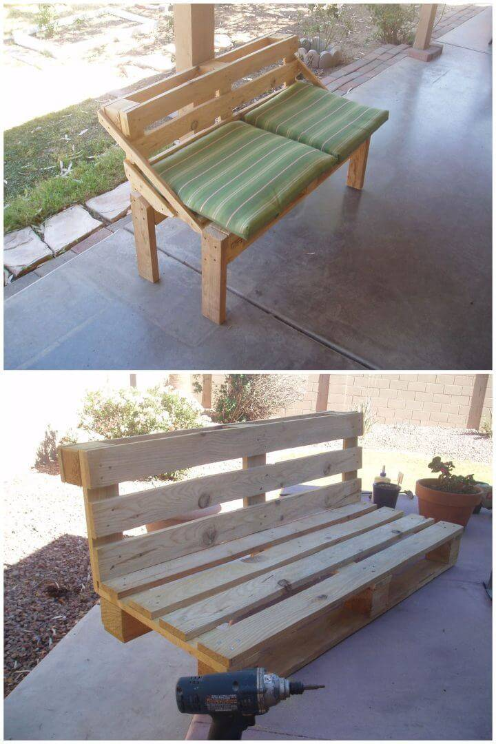 How to Make Pallet Bench