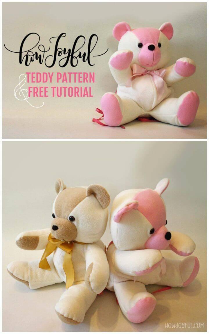 How to Make a Stuffed Teddy Bear