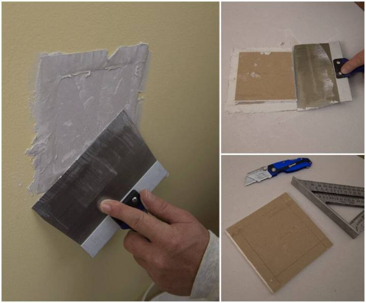 How to Repair a Medium size Hole in Drywall