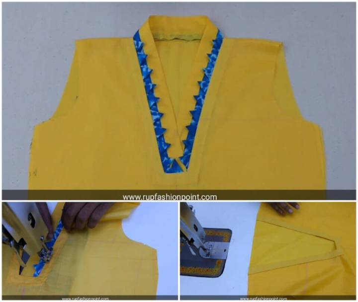 How to Sew Nyc Collar Neck Design