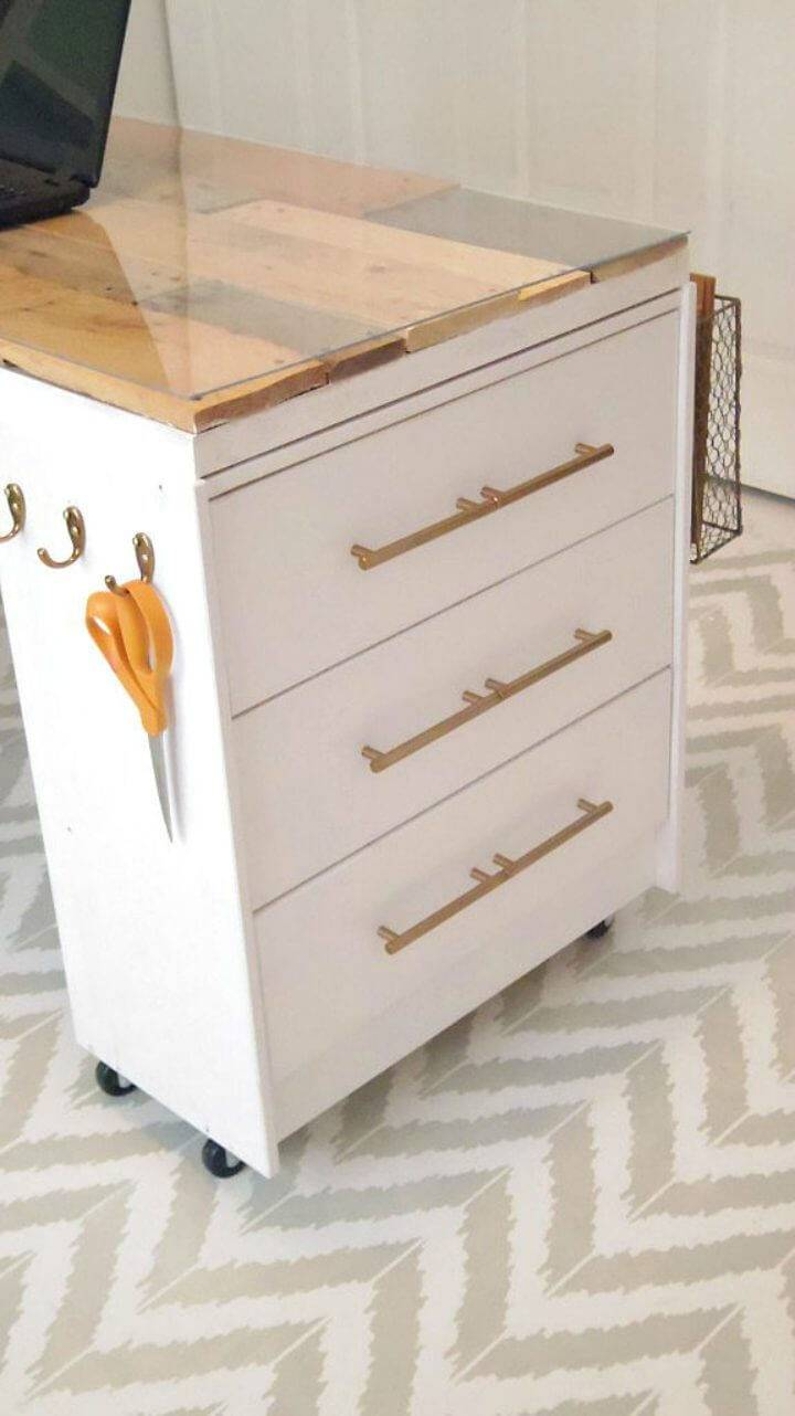 IKEA Rast Hack New Craft room Desk