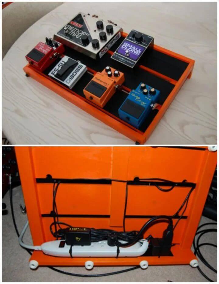 Inexpensive DIY Pedalboard