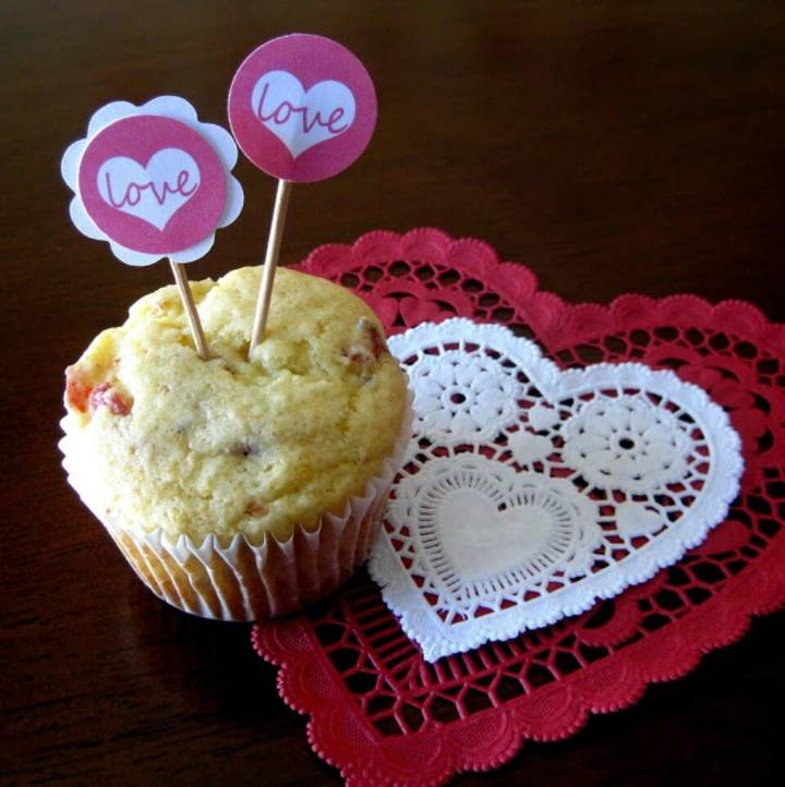 Love Little Cupcake Toppers
