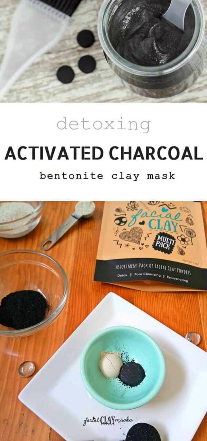 Make Activated Charcoal Face Mask