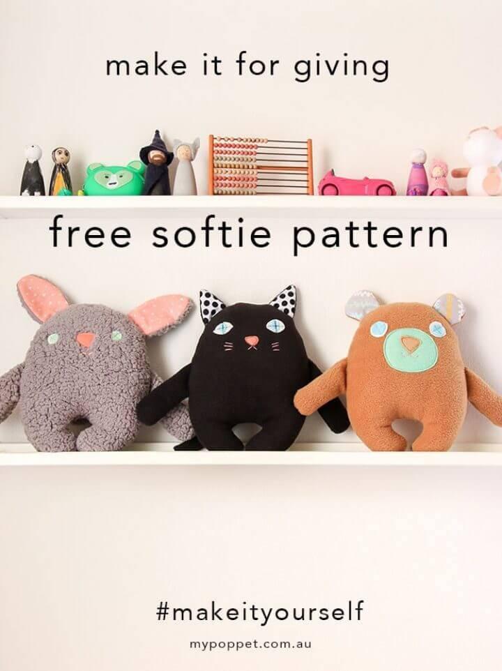 Make Softie Teddy Bears