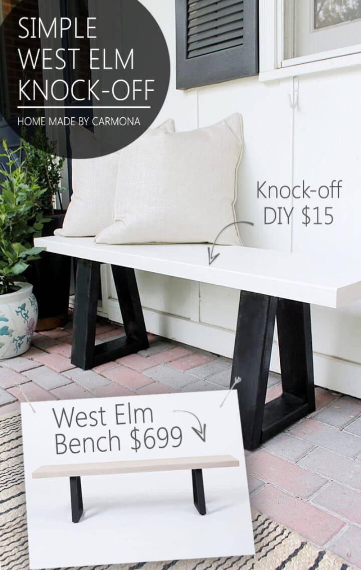 75 Ultimate Diy Outdoor Bench Plans ⋆ Diy Crafts