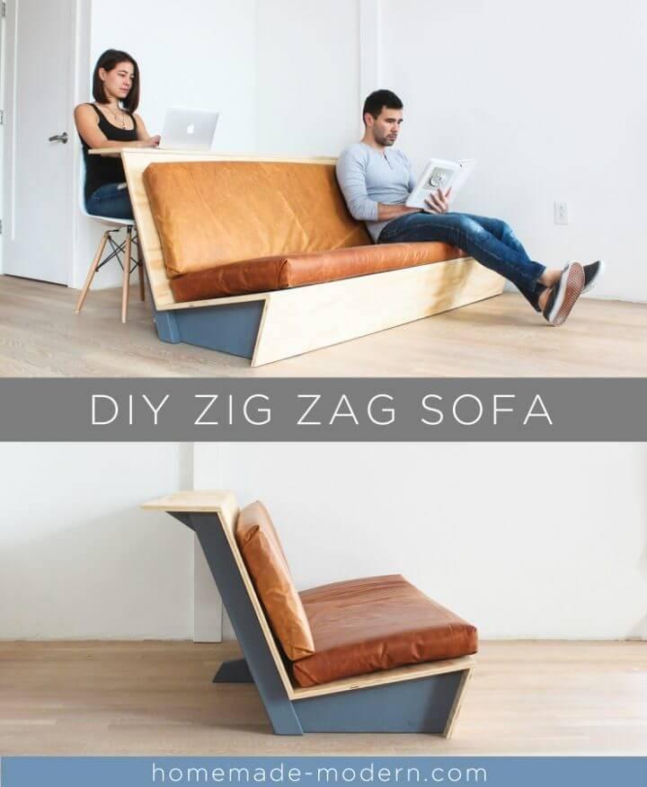 Modern DIY Couch