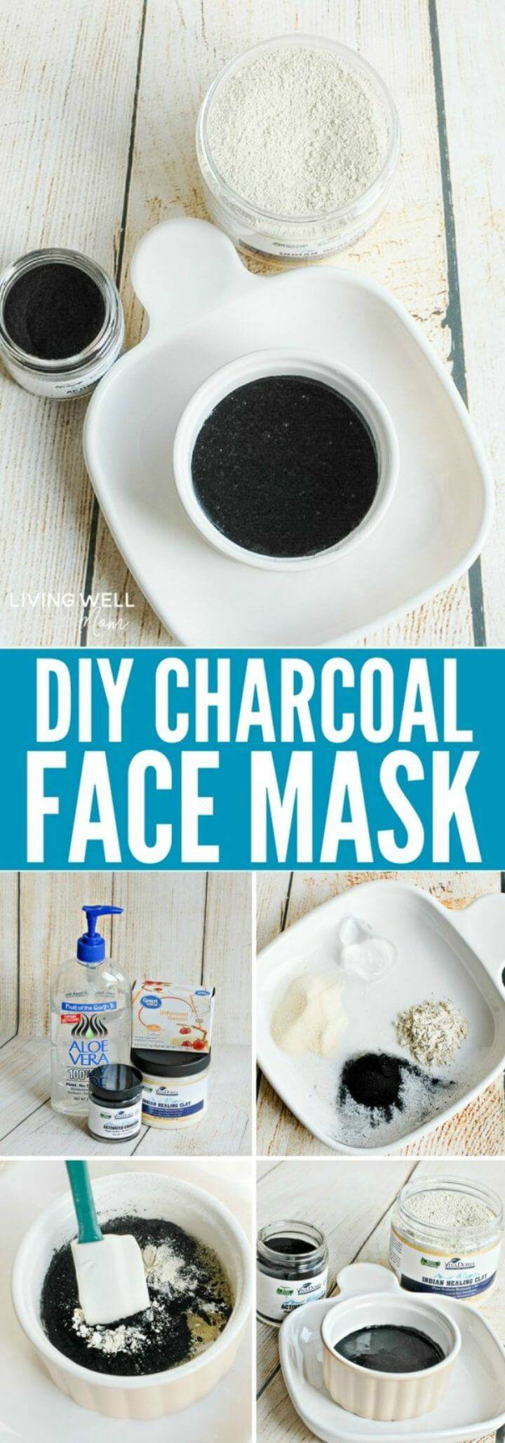 Natural Ingredients Charcoal Face Mask