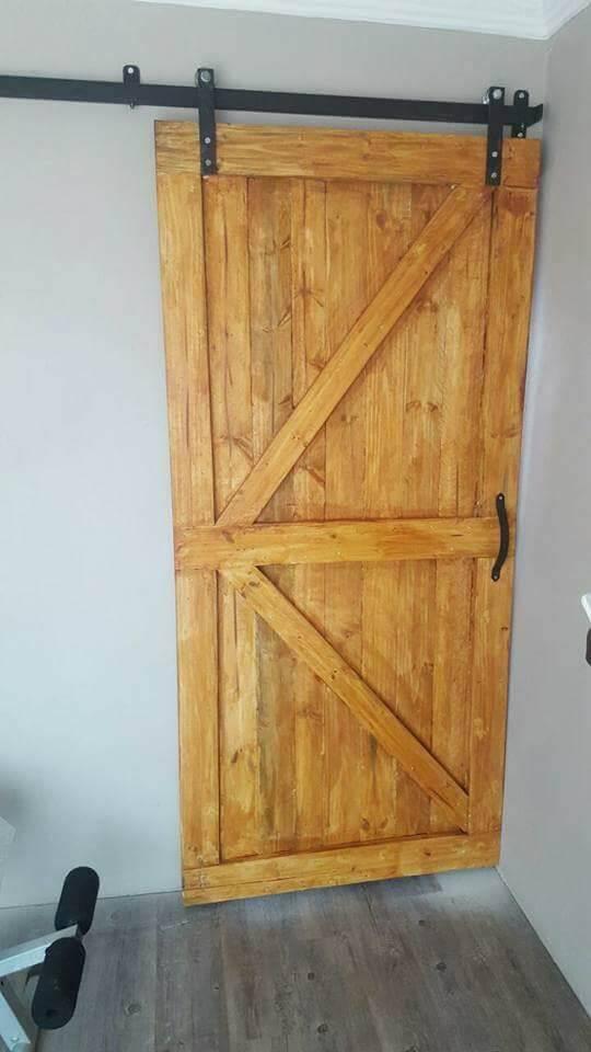 Pallet Barn Door