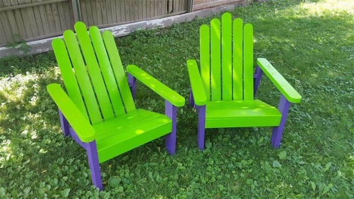 Pallet Chair Ideas for Garden
