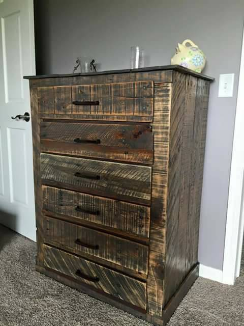 Pallet Drawers Chest