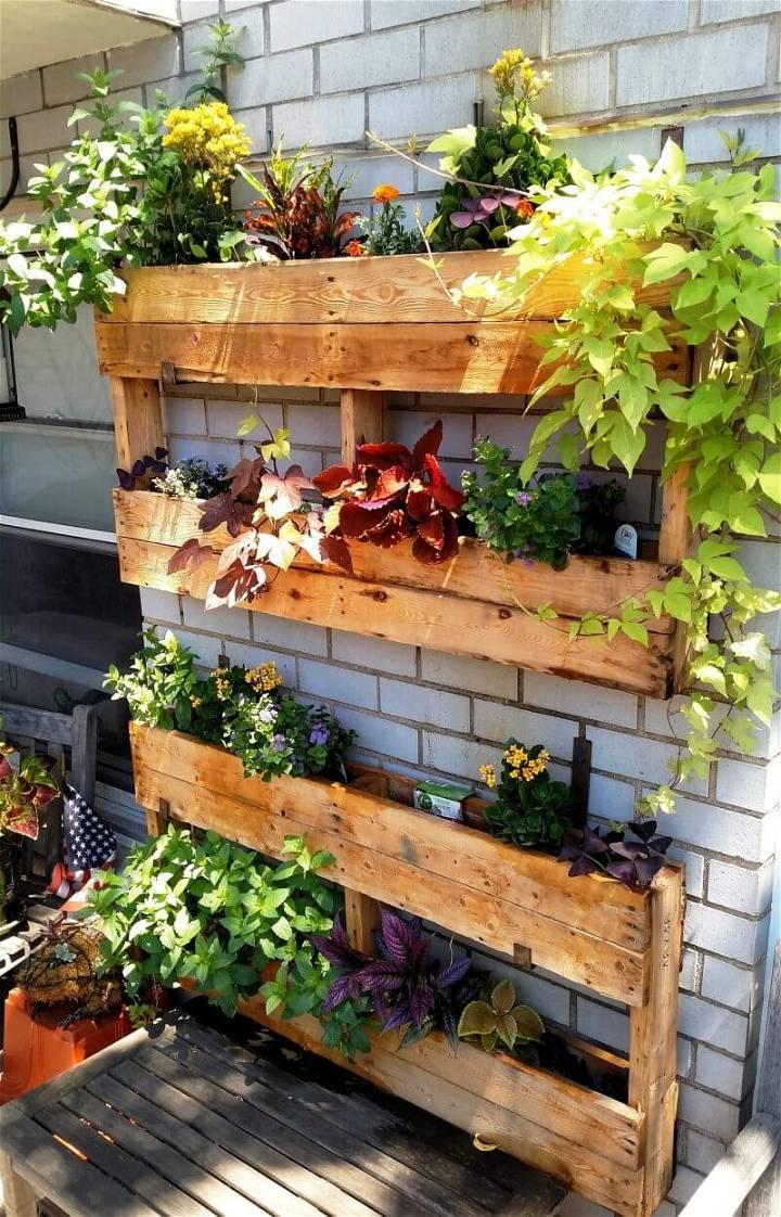 Pallet Planter Project