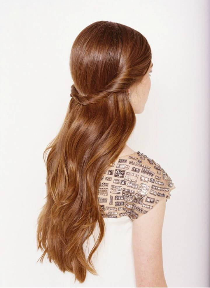 Quick Half Up Half Down Wedding Hairstyles