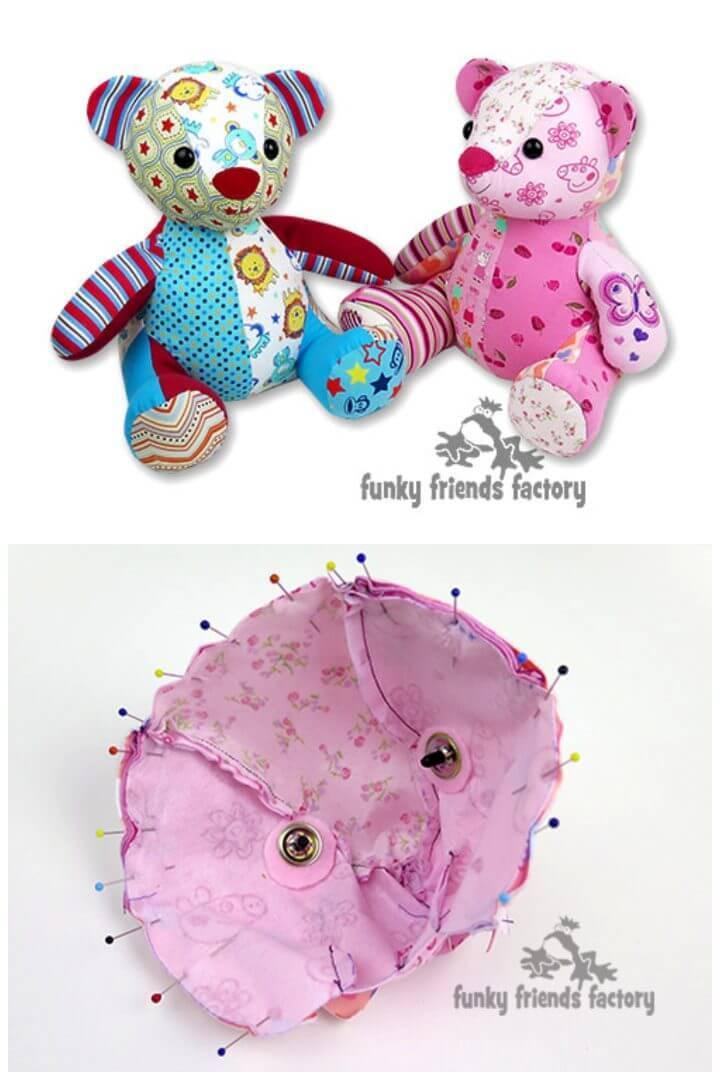Sew a Memory Toy Keepsake Teddy Bear