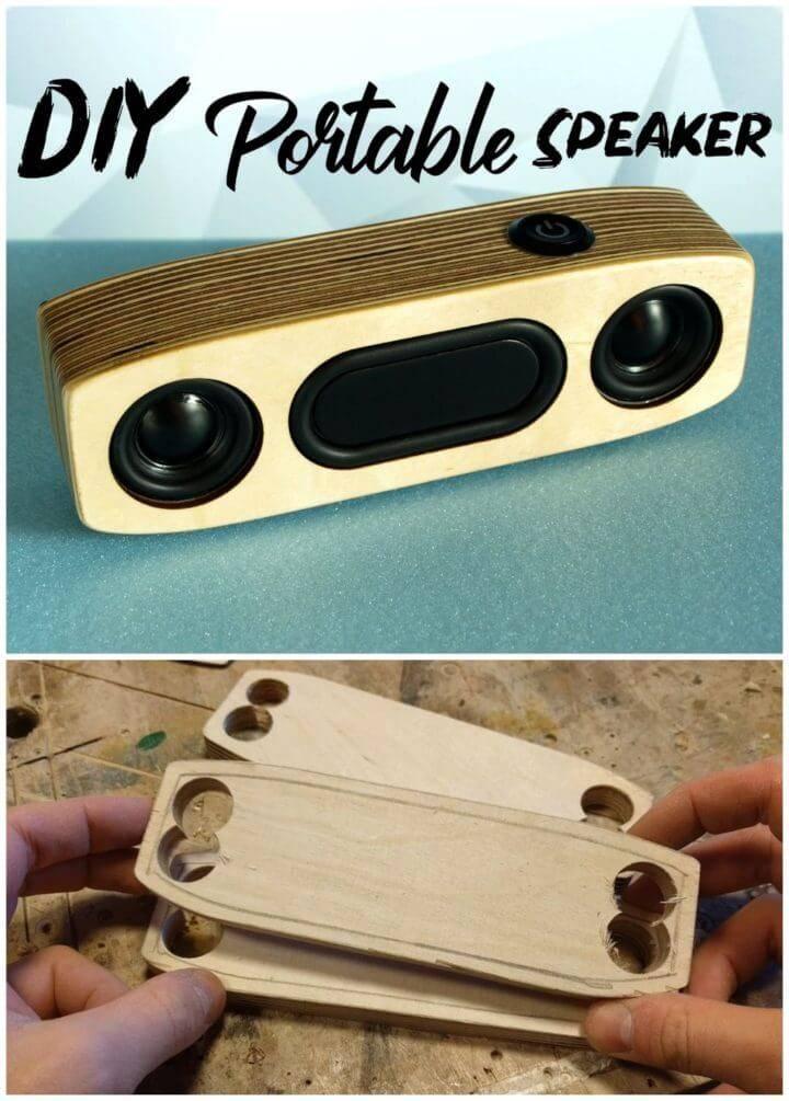 Simple DIY Portable Bluetooth Speaker