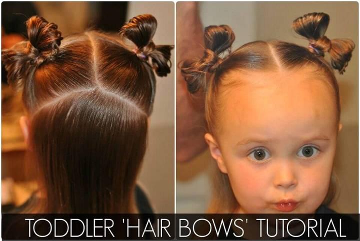 Toddler 'Hair Bows'