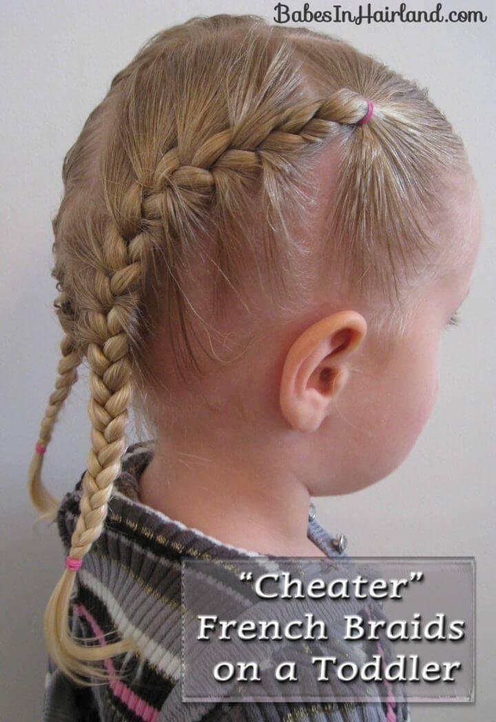 Toddler French Braids