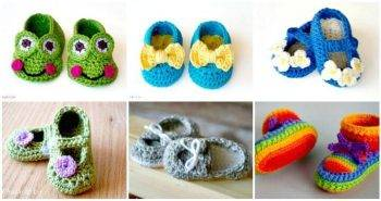 17 Free Crochet Baby Booties Pattern Crochet Baby Shoes