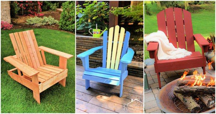 20 Best Adirondack Chair Plans