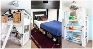 20 Unique DIY Bed Plans for Kids Bedroom