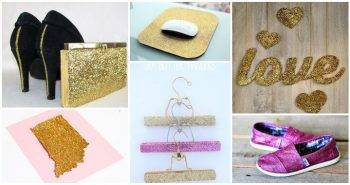 25 Unique DIY Glitter Projects and Glitter Crafts 101 things to do with glitter uses for glitter glitter paper art