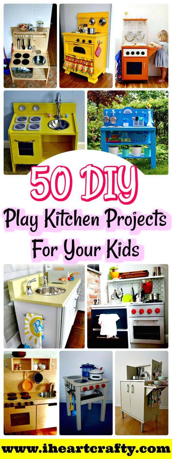 DIY Play Kitchen Projects