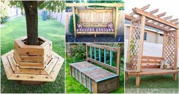 75 Ultimate DIY Outdoor Bench Plans