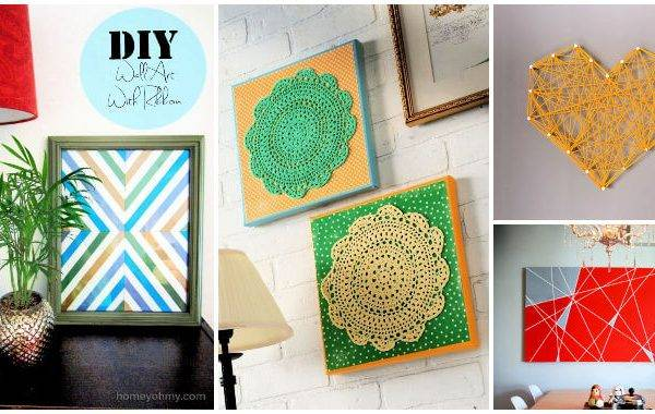 82 Cheap DIY Ways to Make Wall Art For Your Home Decor DIY Ideas