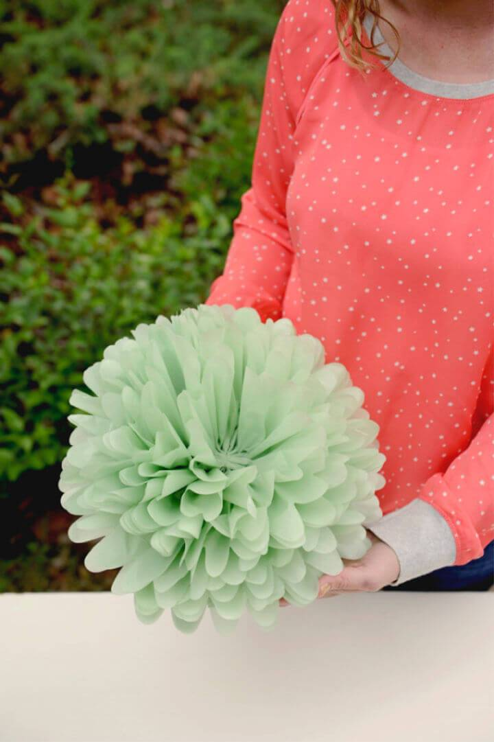 Adorable DIY Tissue Paper Flowers