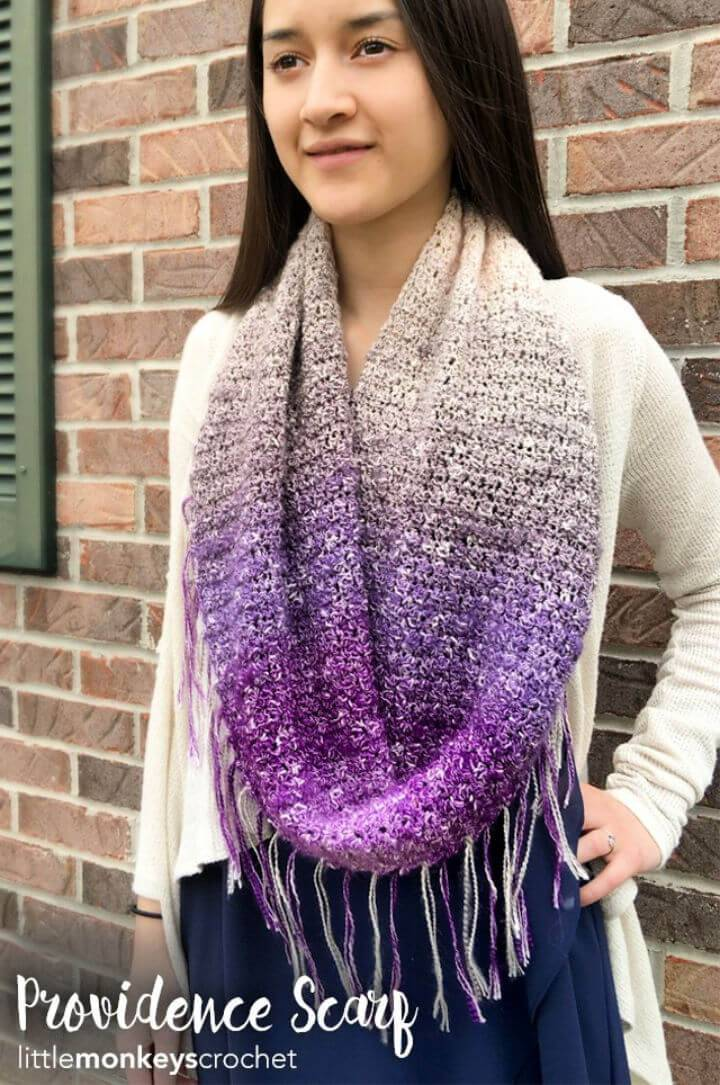Awesome Providence Scarf Free Pattern
