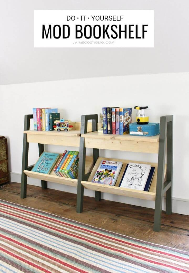 Build a Midcentury Modern Bookshelf