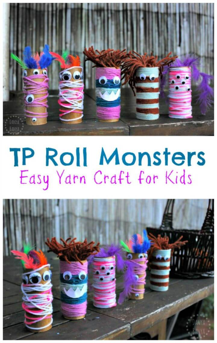 Create a TP Roll Monsters