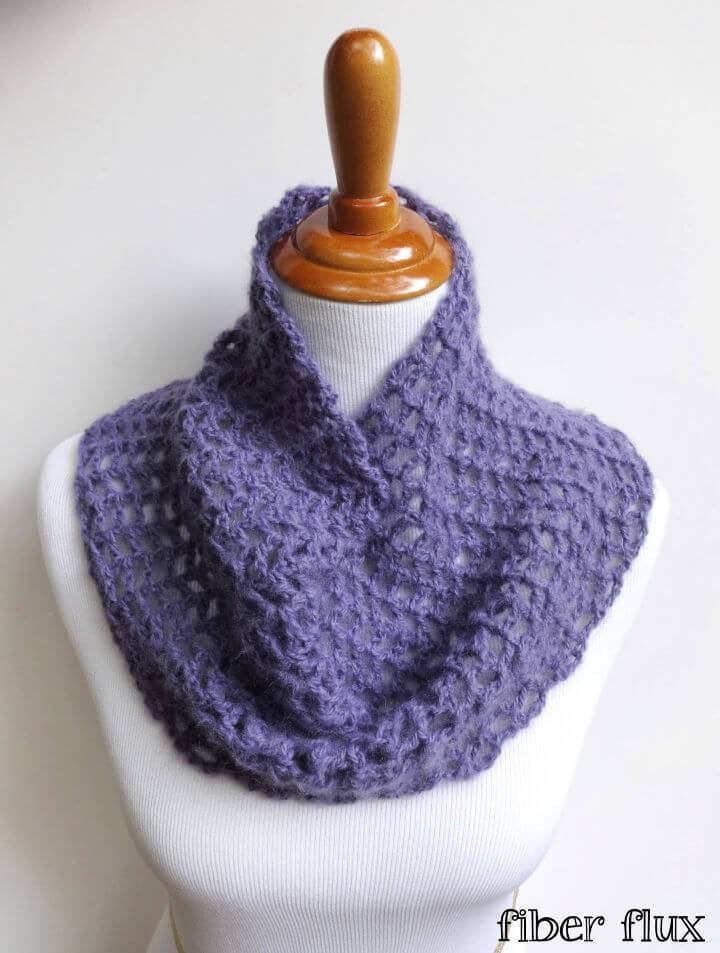 Crochet Catarina Cowl Free Pattern