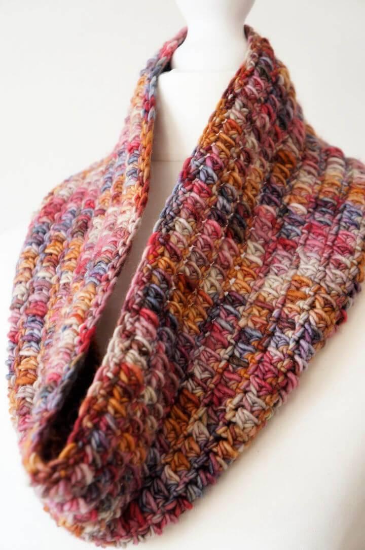 Crochet One Skein Cowl